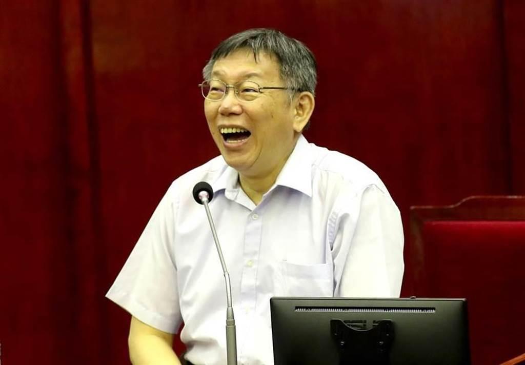 台北市長柯文哲。(資料照,鄭任南攝)