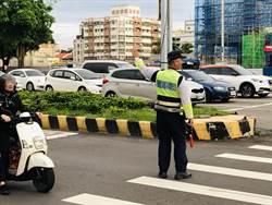 台中市警10路口大執法 重點取締5違規
