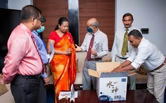 旺旺水神國際捐贈運抵斯里蘭卡 為全球防疫持續打拚