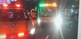 桃園公車疑闖紅燈 撞傷過馬路婦人