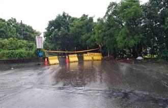 台南市27日下午強降雨來襲 預估累積雨量破百毫米