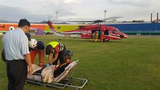 特搜消防員雪山救難勤務受重傷 副署長、現場到院探視