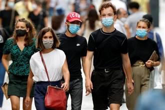 新冠確診暴衝 法總理下令:巴黎全區強制戴口罩