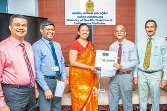 旺旺支持防疫 水神捐贈斯里蘭卡