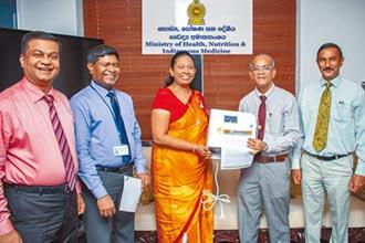 斯里蘭卡部長 感謝旺旺捐贈水神