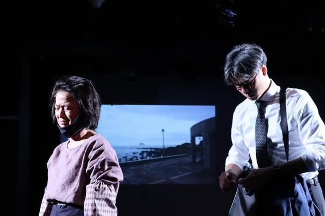 《我們與惡的距離》全民公投劇場版排練。(故事工廠提供)
