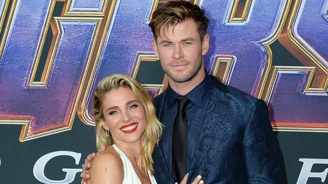《雷神》男星克里斯漢斯沃(Chris Hemsworth)完美夫妻是假的?辣妻曝「真實婚姻狀況」(圖/達志影像)