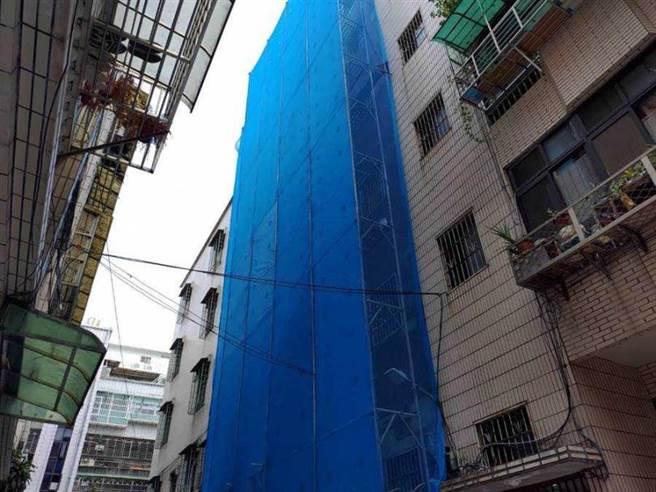 公寓進行外牆翻新作業釀成事故。(圖/報系資料照)