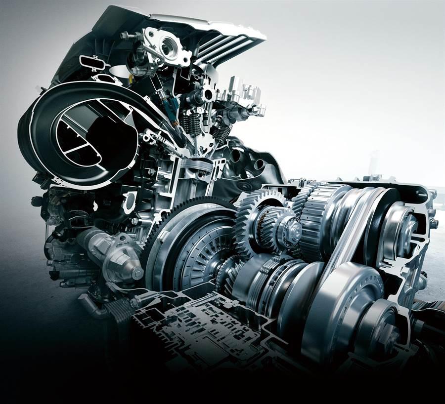 ES200動力升級M20A-FKS 2.0升Dynamic Force搭配可模擬十速之Direct-CVT變速箱,性能、節能同步提升
