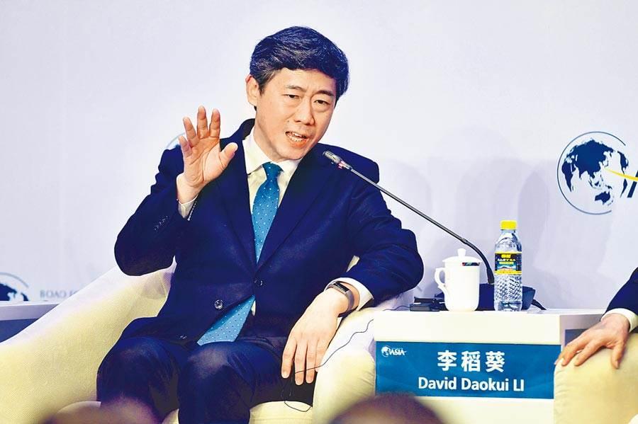 李稻葵是大陸知名經濟學者。圖/中新社