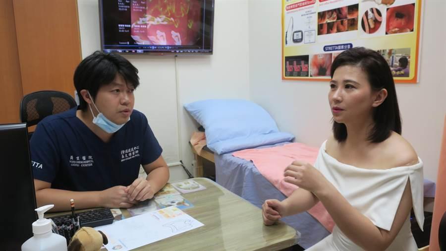 比賽壓力大 林喬安照3D胃腸鏡改善火燒心 - 生活
