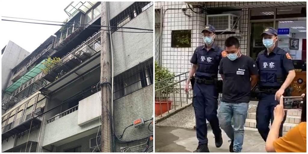 劉男鄰居得知他槍擊館長後,都相當驚訝。(圖/合成圖,記者林郁平、戴上容攝影)