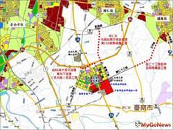 區域利多!努力打通台南高鐵特區交通動脈