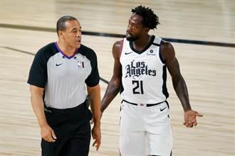 NBA》G2辱罵裁判 貝弗利挨罰2.5萬美元