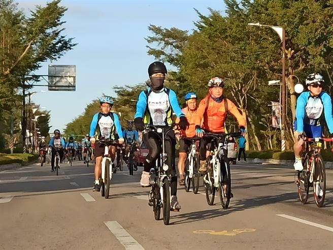 金門國家公園「2020單車的香格里拉」敲定11月14日登場,9/10日開放網路報名。(金管處提供)