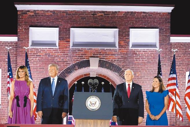 川普26日接受《華盛頓觀察家報》訪問時又聲稱,他留意到拜登的辯論表現突飛猛進,質疑對方曾服藥。(美聯社)