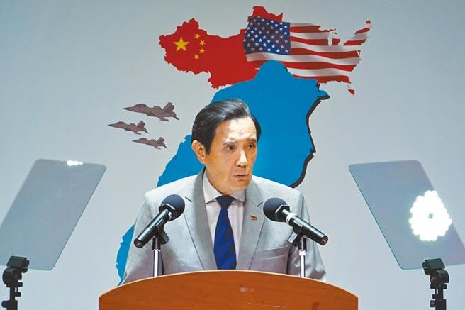 前總統馬英九。(姚志平攝)