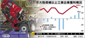 兩年新高 七月工業利潤增兩成
