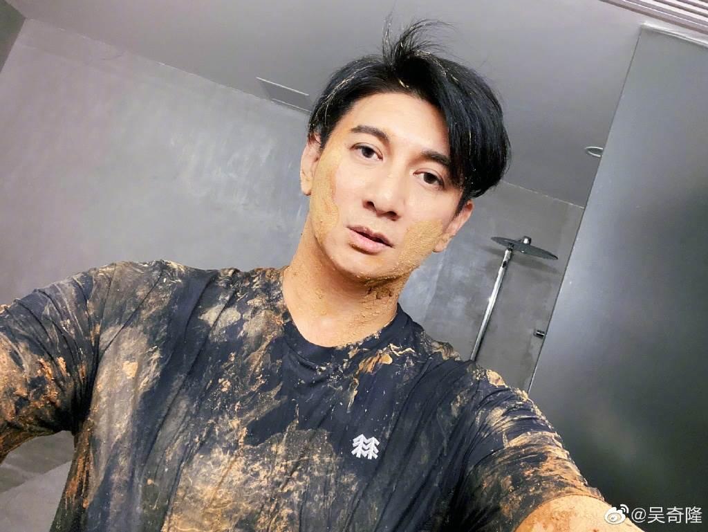 吳奇隆是圈內出了名的敬業藝人。(取自吳奇隆微博)