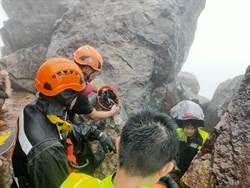 瑞芳茶壺山遊客墜落50公尺廢礦坑 頭部重創緊急送醫