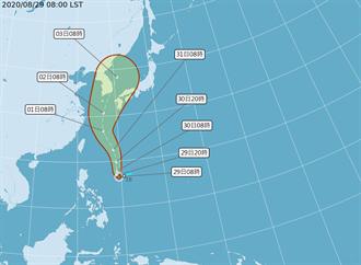 梅莎增強 吳德榮:明晚外圍環流影響台灣