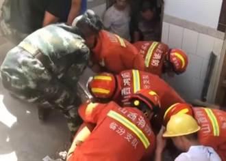 山西臨汾市一飯店坍塌  已知13死 4重傷