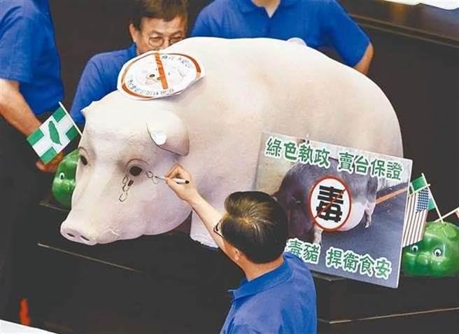 政府擬開放美豬進口,衝擊國內養豬產業及民眾食安。(資料照)