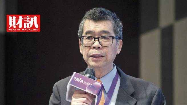 聯發科董事長蔡明介認為5G晶片需求將帶動聯發科營收持續成長。(圖/彭士杰攝)