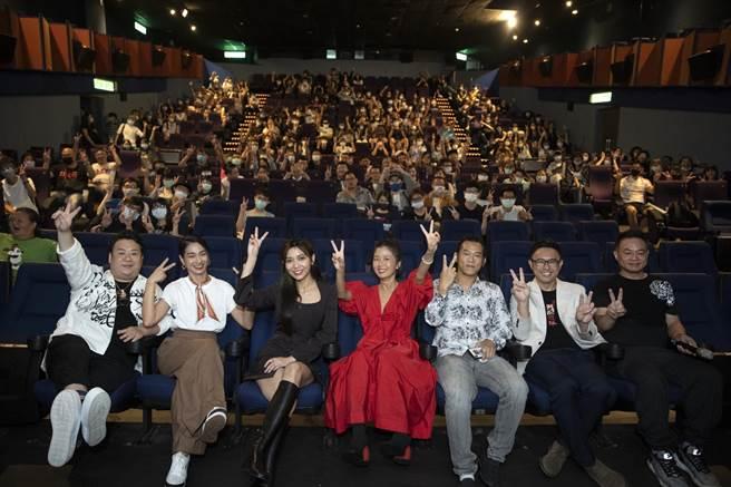 《馗降:粽邪2》西門首映會座無虛席。(華影提供)