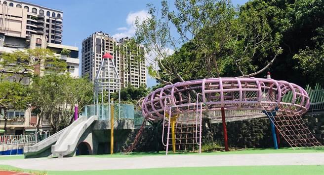 基隆向中央爭取3900萬,將在基隆各地的校園打造夢幻遊戲場。(基隆市政府提供/吳康瑋基隆傳真)