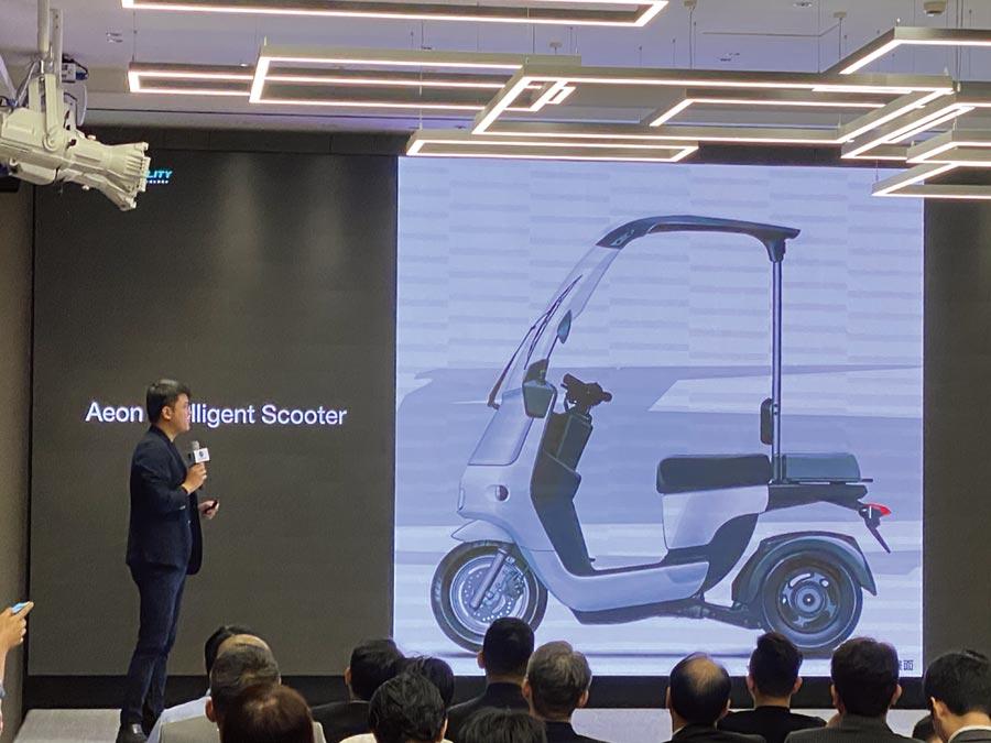 宏佳騰Ai-2 Gother電動三輪車。圖/陳信榮