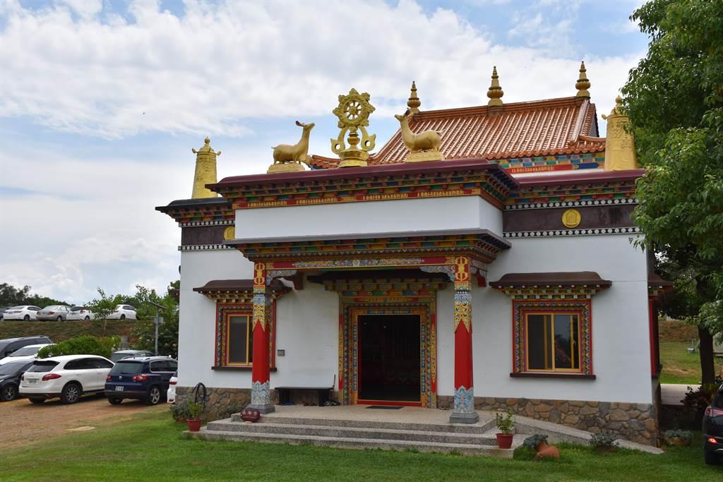 後龍桑耶寺首期佛寺。(謝明俊攝)