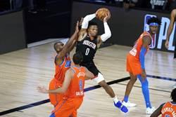 NBA》忍者龜復出 火箭輕取雷霆宣告聽牌