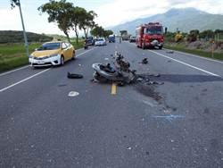 花蓮離奇死亡車禍 機車失控衝對向車道 婦遭油罐車輾斃