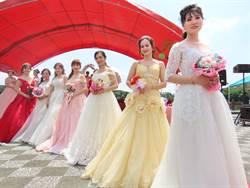 新住民學美容美妝 成果展讓姊妹穿婚紗圓夢