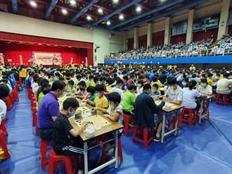 紅面棋王全國圍棋公開賽  逾千選手板橋對弈