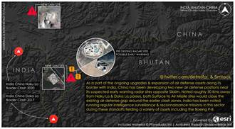 嚇阻印度陣風戰機 陸在中印邊界新建2座防空導彈基地