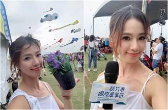 女童被風箏捲上天猛甩 現場主持女星還原實況忍不住哭了