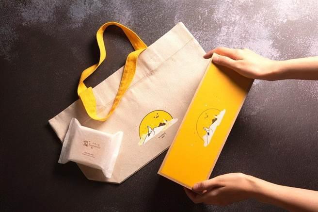 微熱山丘》在中秋前夕推出期間限定的「鳳梨奶黃月餅禮盒」。(微熱山丘提供/廖志晃南投傳真)