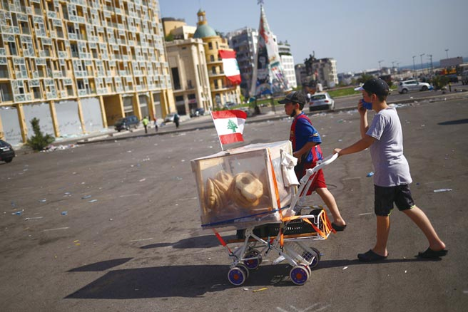 黎巴嫩引爆斷糧危機圖╱路透