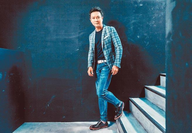 王燦表演層次再提升,盼能拚進金鐘再創事業新里程碑。(羅永銘攝)