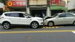 台南媽駕車送5歲女開學 酒駕男逆向正面對撞 母女幸運輕傷