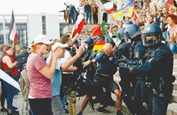 歐洲極右派示威 多地騷亂