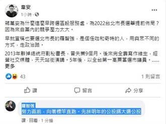 媒體人談蔣萬安 為某怪咖提前布局北市長?羅智強意外留言