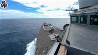 美軍驅逐艦今通過台海 國防部證實