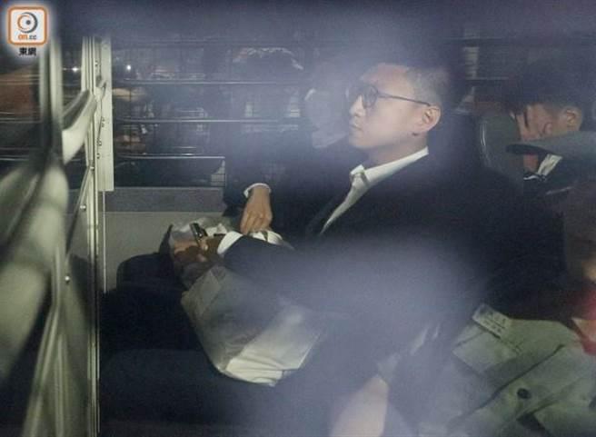 香港本土民主前線前發言人梁天琦。(東網)