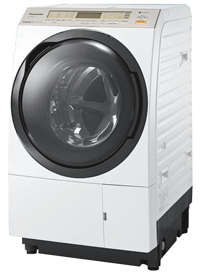 燦坤洗衣機銷售排名第2的Panasonic 11公斤nanoeX滾筒洗衣機,原價6萬5900元,促銷價5萬9700元,送5年延保及獨家贈品。(燦坤提供)