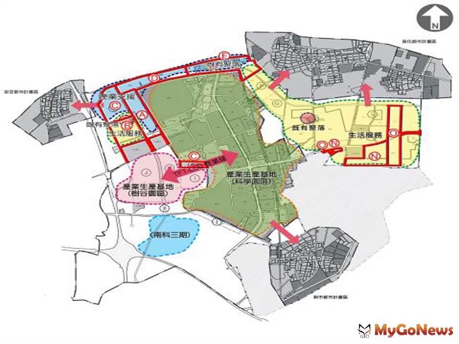 持續推進南科A~E、N、O等7區開發作業,黃偉哲:建構完整產業生活圈,適度提供園區產業用地(圖:台南市政府)