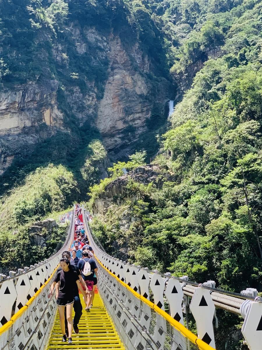 雙龍七彩吊橋規畫建緩坡步道 縣府要籌5000萬元 - 生活