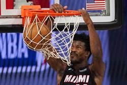NBA》熱火燒烤公鹿 吉米巴特勒豪取40分